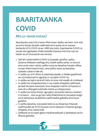 Somali.COVID Testing Info The Center Page 1