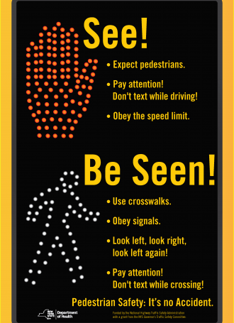 English. Be Seen Poster 3290